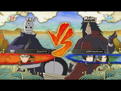 Naruto Shippuden Ultimate Ninja Storm 3: Tobi Vs Madara Ranked Match #7 (Commentary)