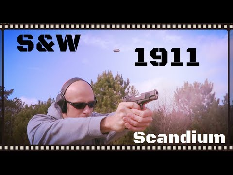 Smith & Wesson E-Series 1911 SC With Bobtailed Scandium Frame Review (HD)