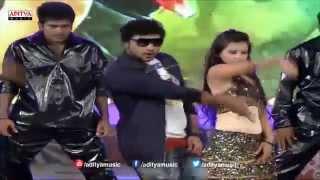 Prathichota Nake Swagatham Song Performance - Govindudu Andarivadele Audio Launch - ADITYAMUSIC