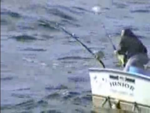 Sleeping Fisherman Catches WHALE Pulls Boat Backwards