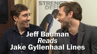 Jeff Bauman Reads Famous Jake Gyllenhaal Lines - WASHINGTONPOST