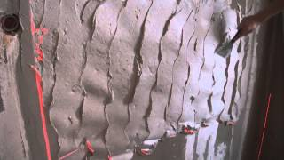 Штукатурка стен своими руками. Как правильно выравнять стены по маякам.