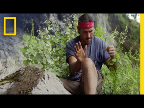 How to Make Your Own Fishing Line | Primal Survivor