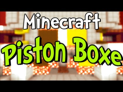 Minecraft Piston Boxe w iJevin