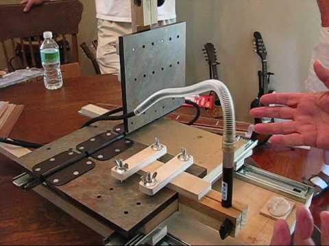 Keith MacKenzie's Pantograph  The FL Guitar Builders Ass. Meeting