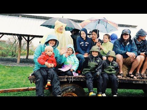 Polyface Farm Tour - In Pouring Rain!