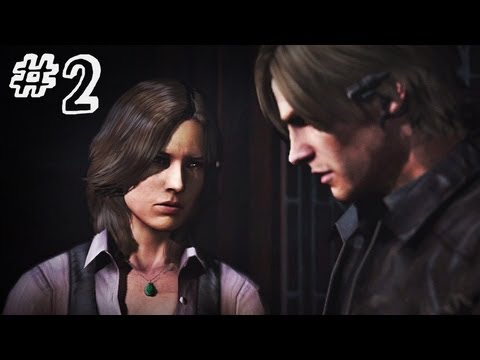 Resident Evil 6 Gameplay Walkthrough Part 2 - NO WAY OUT - Leon / Helena Campaign Chapter 1 (RE6)
