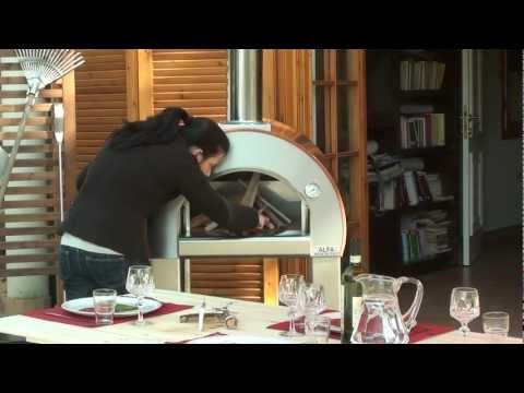 Готовые Дровяные печи Alfa Pizza 5 MINUTI