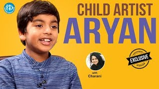Fidaa Movie Child Artist Aryan Exclusive Interview || Talking Movies With iDream #465 - IDREAMMOVIES