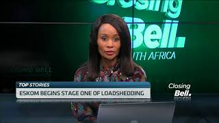 Eskom begins stage one of load shedding - ABNDIGITAL