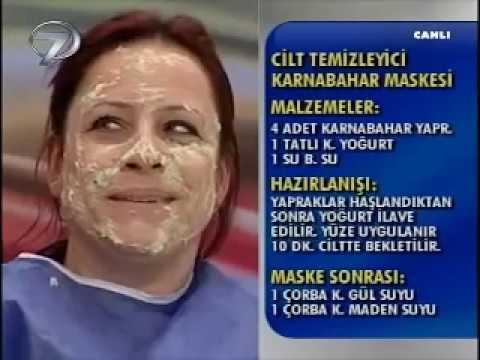 Dr. Feridun Kunak Show 23 Şubat B5 (Serap Hanımdan Cilt Temizleyici Karnabahar Maskesi)