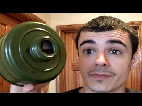 Gas Mask Filter Safety advice - صوت وصوره لايف