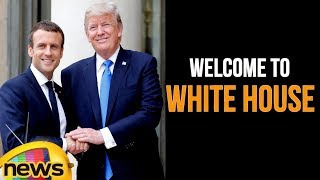 Trump Family Welcomes France President Macron To The White House | Mango News - MANGONEWS