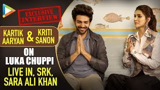 EXCLUSIVE INTERVIEW: Kartik Aaryan & Kriti Sanon On Luka Chuppi, Live In, SRK, Sara Ali Khan - HUNGAMA