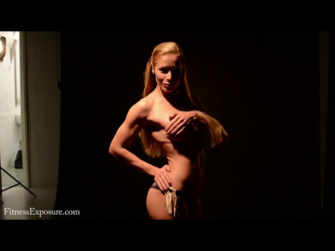 Zsuzsanna Toldi Arnold Classic Europe 2012 Bodyfitness Category Winner Photoshooting