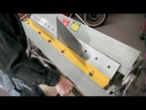 Metalshop - Building a custom shop-rag dispenser out of sheet metal