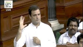 "#NoConfidenceMotion- Rahul Gandhi Attacks PM On Rafale Deal, Says ""He Can't Look Me In The Eye"" - NDTV"
