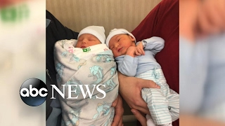 Brothers Welcome Firstborn Children on Same Day - ABCNEWS