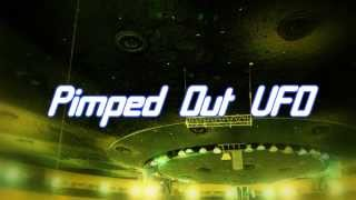 Royalty Free Pimped Out UFO:Pimped Out UFO