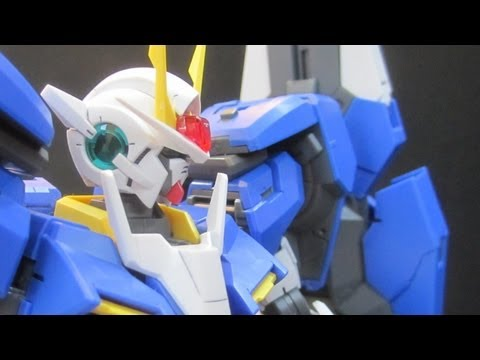 MG 00 Gundam Seven Sword /G (Part 4: Posing) 00 gunpla model