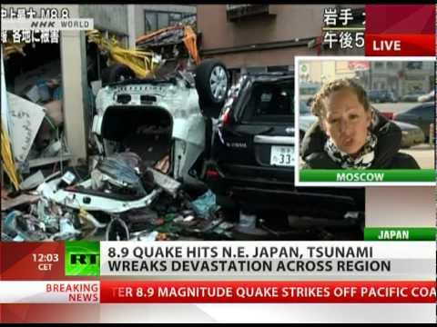 8.9 Japan earthquake biggest in its history, tsunami reaches Russia