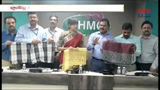 GHMC Distribute Blankets to Poor and needy Road Side People   Hyderabad    CVR News - CVRNEWSOFFICIAL