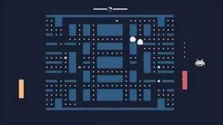 فيديو| العب PacMan وPong في لعبة واحدة