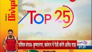 Top 25: Watch top 25 news headlines of today, April 22nd, 2019 - ZEENEWS