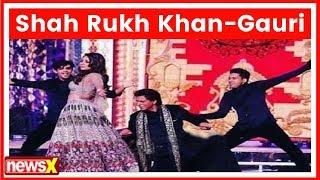Shah Rukh Khan, Gauri Khan take over Isha Ambani-Anand Piramal's sangeet - NEWSXLIVE