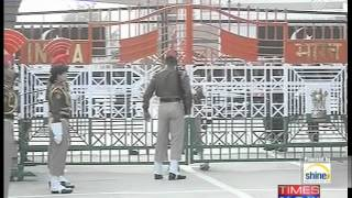 Republic Day ceremony at Wagah Border - TIMESNOWONLINE