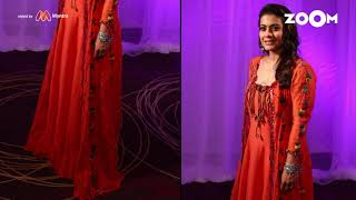 Kajol in floor length Anarkali with Silver bangles | Kajol's OOTD - ZOOMDEKHO