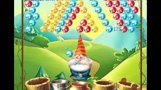 guide, tips, and cheats from Bubble and the Seven Dwarfs Level 1 in video