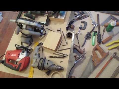 Herramientas De Carpinteria En Madera