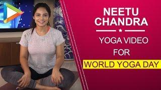 Neetu Chandra special YOGA video for World Yoga Day - HUNGAMA