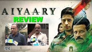 Aiyaary movie REVIEW: Public react with a thumbs down - IANSLIVE