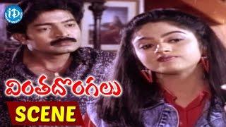 Vinta Dongalu Movie Scenes - Rajasekhar Kidnaps Nadhiya || Jaggaiah || Rao Gopala Rao - IDREAMMOVIES