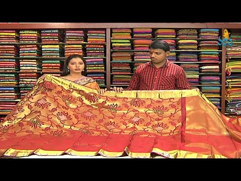 Kanchi Pattu Wedding Saree Collections with Price | Sogasu Chuda Tarama_18-11-2013 | Vanitha TV