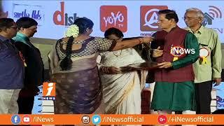 Cinegoers 49th Annual Film Awards Function | TSR | Srinivas Reddy | Kona Venkat | iNews - INEWS