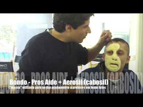 Tutorial de maquiagem de efeitos