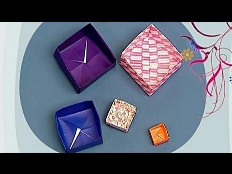 Çocuklar İçin Origami Box (Öğretici) – Kağıttan Arkadaşlar 26