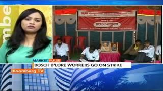 Market Pulse: Bosch Workers On Strike - BLOOMBERGUTV