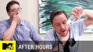 Office Erotic Asphyxiation w/ James McAvoy | After Hours | MTV - MTV