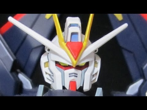 MG Strike Freedom (Part 1: Intro) Full Burst Mode: Gundam Seed Destiny review