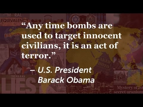Boston Marathon Bombers were terrorists. And so are those who launch bombs at Israelis