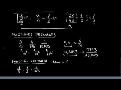 APRENDER FRACCIONES:Mixtas,irreducibles,equivalentes,decimales y unitarias (7/7)
