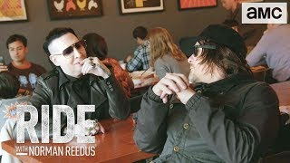 'Eating Hot Chicken w/ Marilyn Manson' Talked About Scene Ep. 306 | Ride with Norman Reedus - AMC