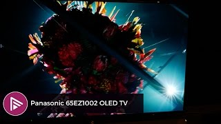 Panasonic 65- inch EZ1002 4K Ultra HD HDR OLED TV at CES 2017