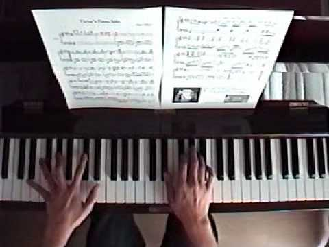 Victor's Piano Solo (w. ending of my own work)