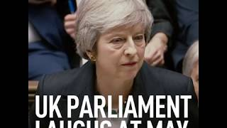 Parliament Laugh: May didn't expect this reaction when giving her Brexit statement - RUSSIATODAY