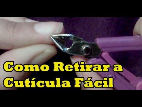 Como tirar cutículas das unhas de um jeito Fácil Super Dica Manual Bela e Simples
